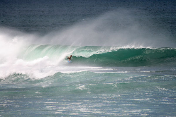 Popoyo Nicaragua - two dudes from OZ paddled out on 5'8s. Sweet As!