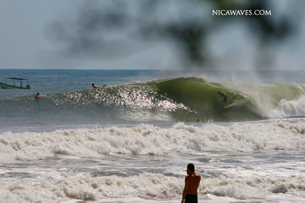 an idyllic central american beachbreak photo