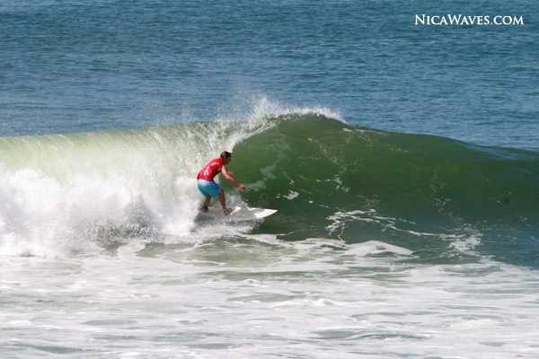 our friend Brian cruised over from La Virgen Morena for some waves