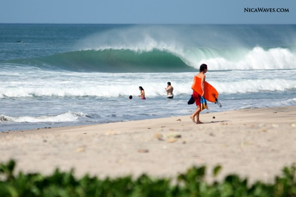 bodyboarding nicaragua